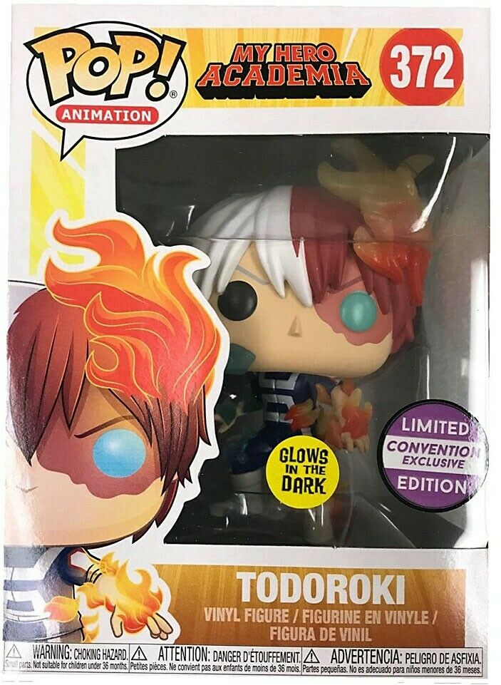 POP! My Hero Academia - Todoroki Glows In The Dark - PAX Exclusive
