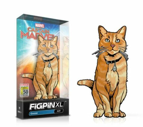 FIGPIN - Captain Marvel Goose XL - SDCC Exclusive LE 750