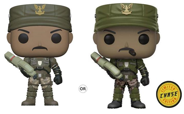 POP! Halo - Sgt Johnson Chase ( 1:5 Ratio for CHASE )