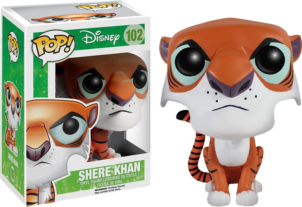 POP! Disney - Jungle Book - Shere Khan - Vaulted