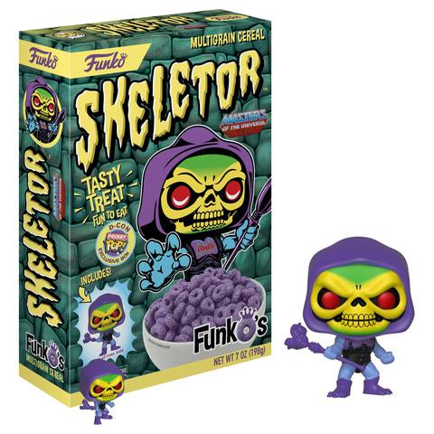 FunkO's Cereal Exclusive - Skeletor - Designer Con Limited Edition