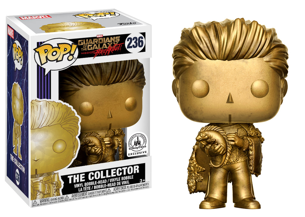 POP! Marvel - Guardians Of The Galaxy - The Collector Gold - Disney Exclusive
