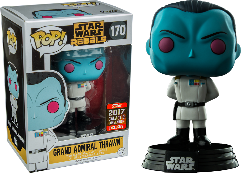 POP! Star Wars Rebels - Grand Admiral Thrawn - 2017 Galactic Convention Exclusive