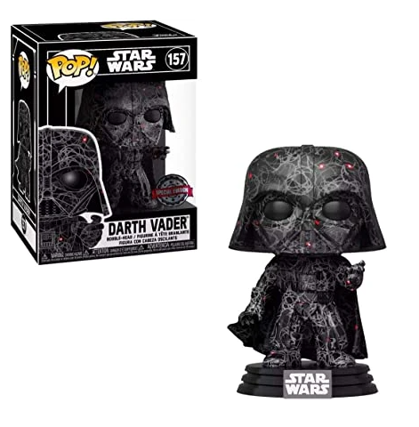 POP! Star Wars x Futura - Darth Vader Special Edition with POP! Stack Protector