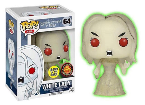 POP! Asia - Legendary Creatures & Myths - White Lady Glows In The Dark - Asia Exclusive