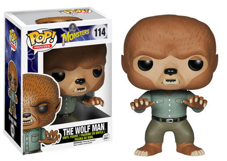 POP! Movies - Universal Monsters - The Wolf Man - Vaulted