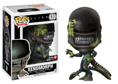 Funko POP Alien Covenant Xenomorph Bloody Splattered Gamestop Exclusive