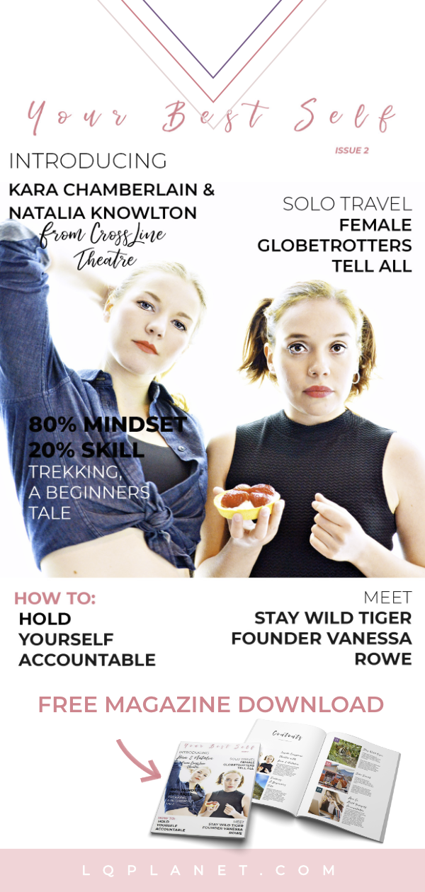 Your Best Self Magazine is about women's lifestyle with personal growth self improvement ideas and self improvement tips. Issue 2 is a FREE magazine subscription featuring inspirational women, healthy recipes, mindfulness practices, self care ideas, journal prompts & craft ideas. Photo by James Cross. #growingupagirl #howto #women #personalgrowth #selfconfidence #selflove #selfcare #love_yourself #bodypositive #mindset #positive #positivevibes #healthylifestyle #lifestyle #lifegoals #mindfulness