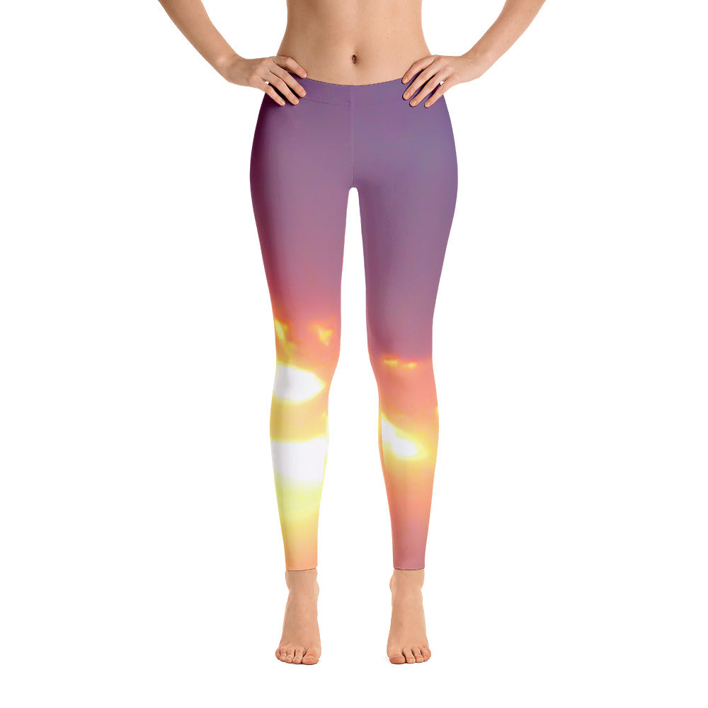 Shine on Through Printed Leggings