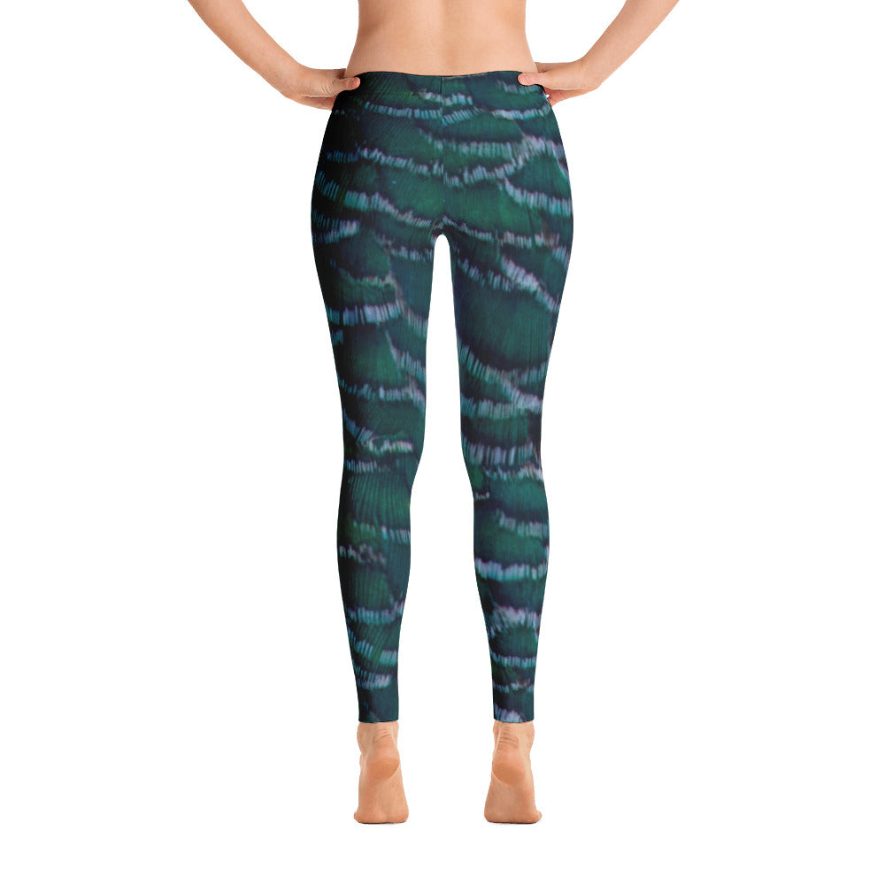 Peahen Printed Leggings