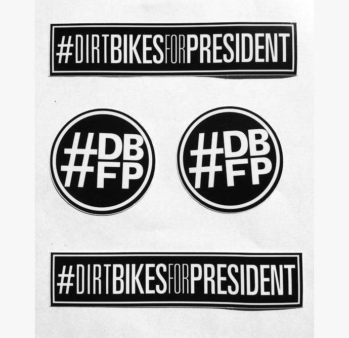 DBFP Classic Sticker Pack Black/White