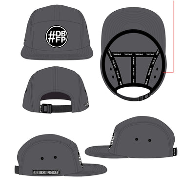 DBFP Camper Hat Grey