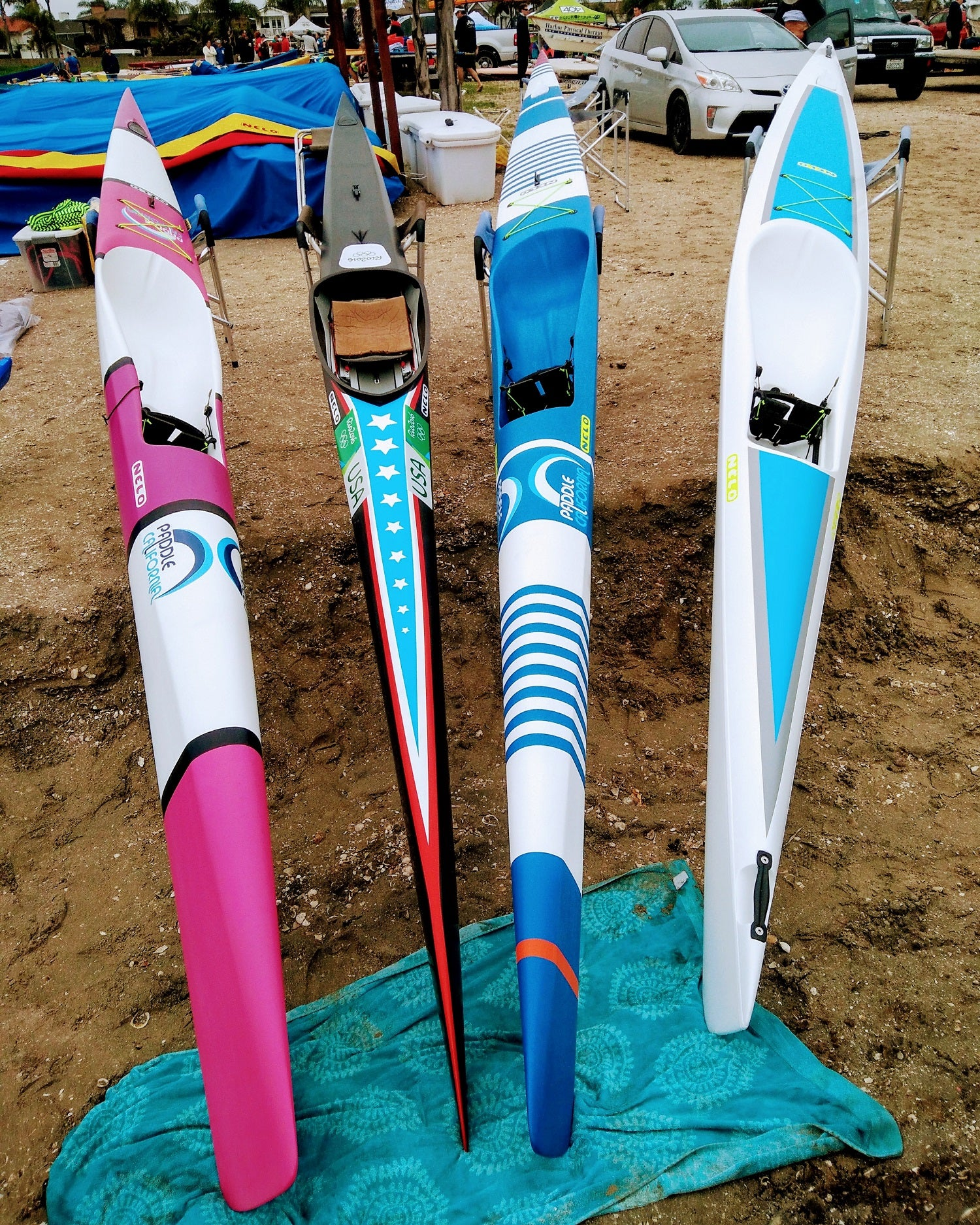 Equipment Reviews Creating beautiful things - Nelo Surfski Design
