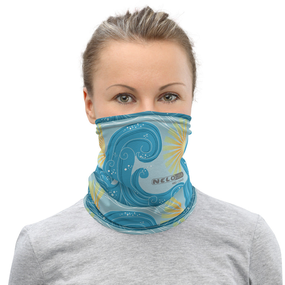 Neck Gaiter - Wave and Sun