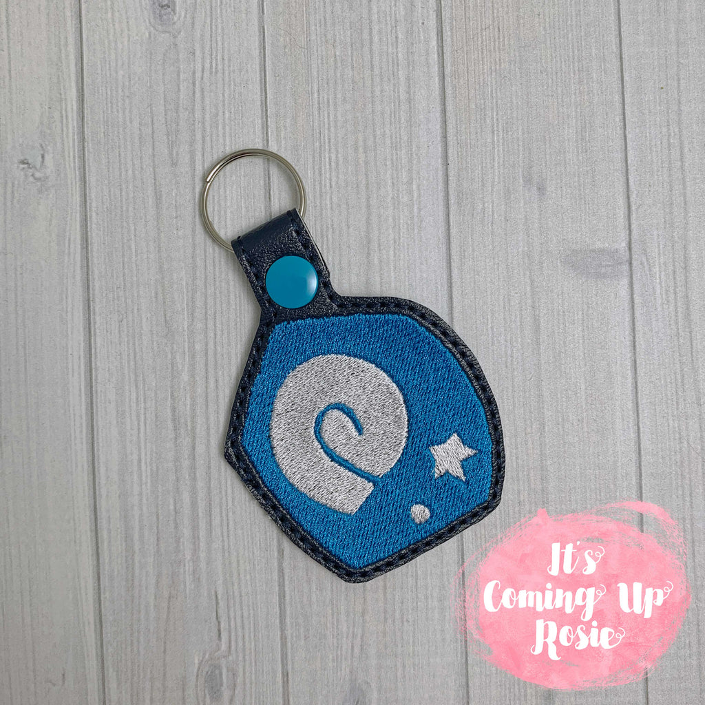 Animal Crossing Fossil Icon Keychain