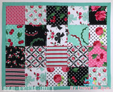 "Doll Quilt & Pillow 2-Pc Set - ""Abigail"" Layout"