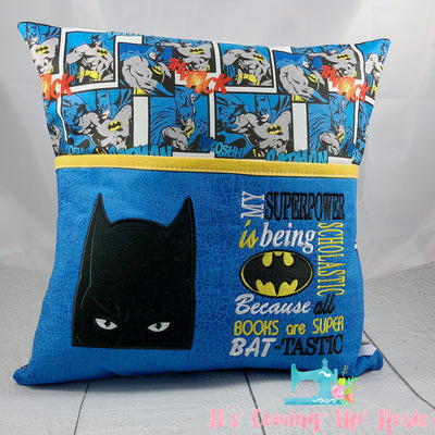 Batman Reading Pillow - IN STOCK!