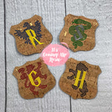 Harry Potter House Crests Coasters