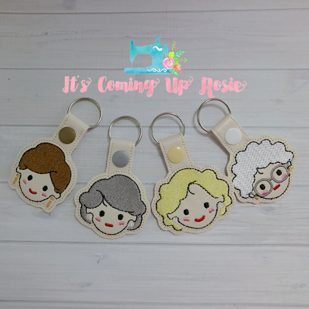 Golden Girls Keychains