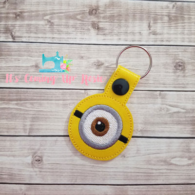 Despicable Me Minion Eye Keychain