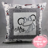 Mickey & Minnie Bridal Pillow Case Set - IN STOCK!