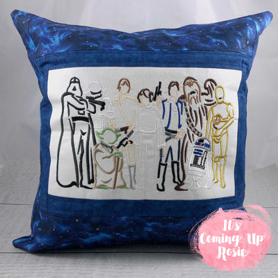 Star Wars Lineup Pillow Case - IN STOCK!