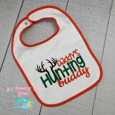 Daddy's Hunting Buddy - Bib or Bodysuit