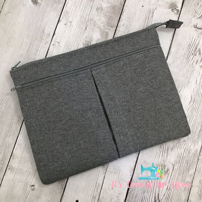iPad/Tablet Case - Grey Suit