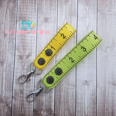 Measuring Tape V2 Keychain
