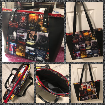 Stephen King Book Cover Every Day Tote
