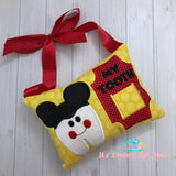 Mickey Tooth Fairy Pillow - One of A Kind