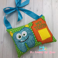 Monster Tooth Fairy Pillow - One of A Kind