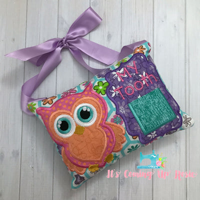 Owl Tooth Fairy Pillow - One of A Kind