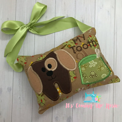 Puppy Tooth Fairy Pillow - One of A Kind