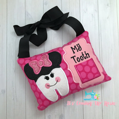 Minnie Tooth Fairy Pillow - One of A Kind