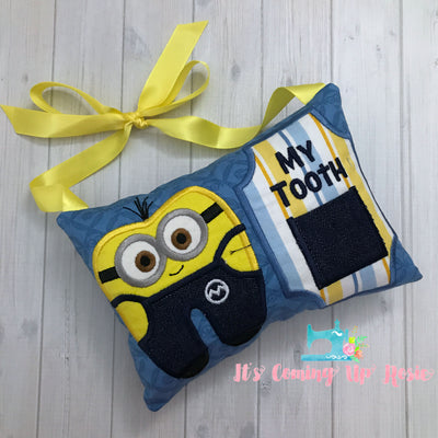 Minion Despicable Me Tooth Fairy Pillow - One of A Kind