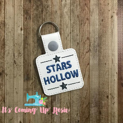 Gilmore Girls Stars Hollow Keychain