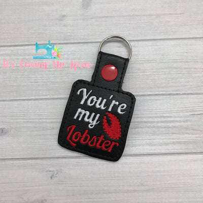 You're My Lobster Friends Keychain