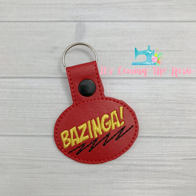 Bazinga! Big Bang Keychain
