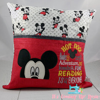 Mickey Mouse Reading Pillow - IN STOCK!