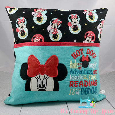 Minnie Mouse Reading Pillow