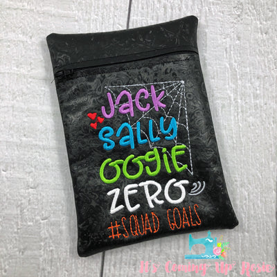 NBC #SquadGoals Vinyl Zipper Bag