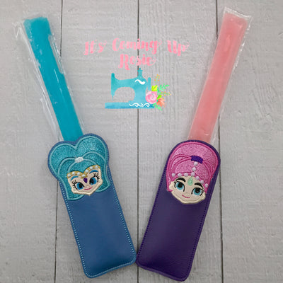 Shimmer & Shine Freezer Pop Holder
