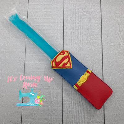 Superman Freezer Pop Holder