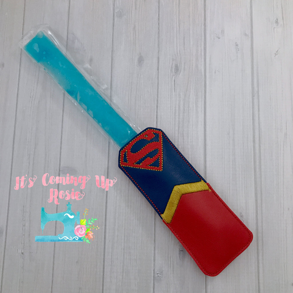 Supergirl Freezer Pop Holder