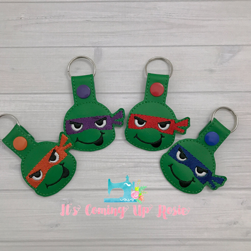Teenage Mutant Ninja Turtle Keychains