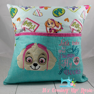 Paw Patrol Skye Reading Pillow