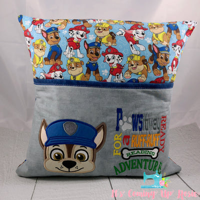 Paw Patrol Chase Reading Pillow