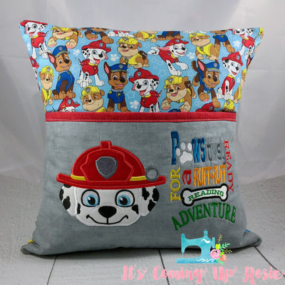 Paw Patrol Marshall Reading Pillow