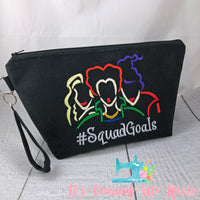 #Squad Goals Hocus Pocus Zipper Bag